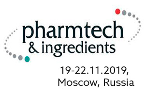 Pharmtech 19-22.11.2019 Moscow, Russia