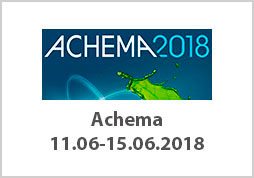 Achema 11.06.-15.06.18 Frankfurt am Main, Germany